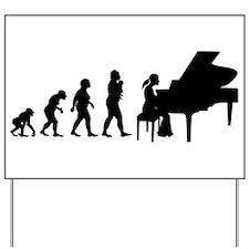 Pianist Yard Sign
