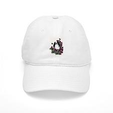 floral Japanese Chin Baseball Cap