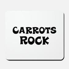 Carrots Rock Mousepad