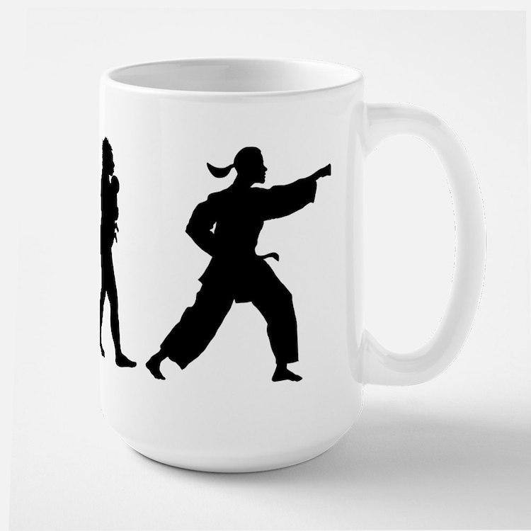 Martial Art Ceramic Mugs