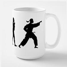 Martial Art Large Mug
