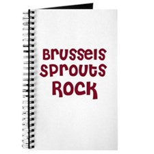 Brussels Sprouts Rock Journal