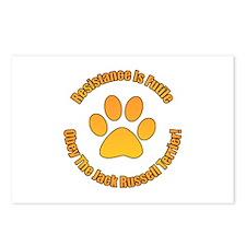 Jack Russell Terrier Postcards (Package of 8)