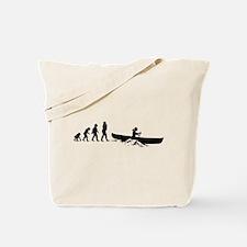 Canoeing Tote Bag