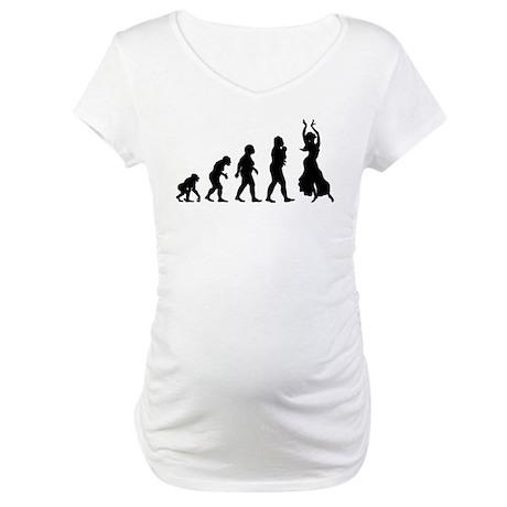 Belly Dancing Maternity T-Shirt