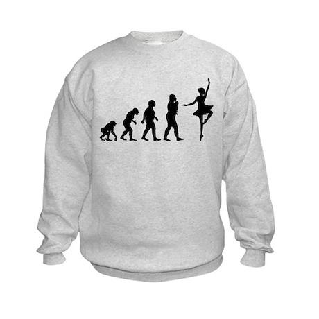 Ballet Dancing Kids Sweatshirt