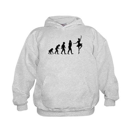 Ballet Dancing Kids Hoodie