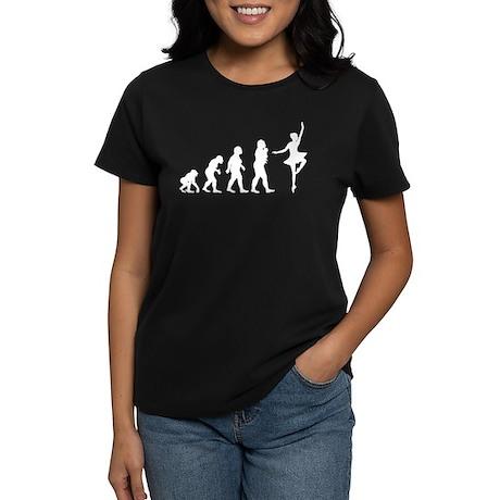 Ballet Dancing Women's Dark T-Shirt