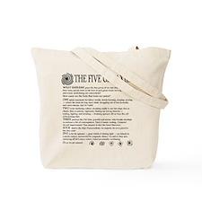 Starship's Bow Emblem Tote Bag
