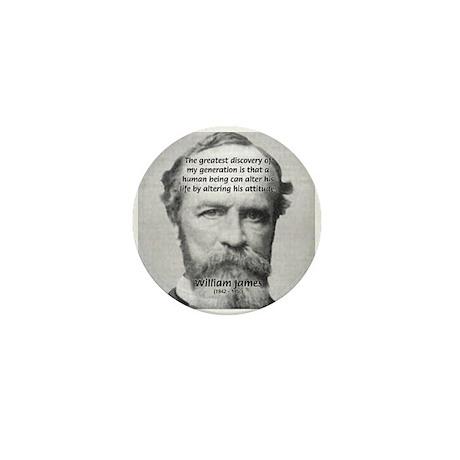 Attitude Perception on Life Mini Button