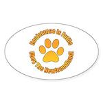 Newfoundland Sticker (Oval)