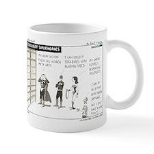 e-Discovery Superheroes Mug