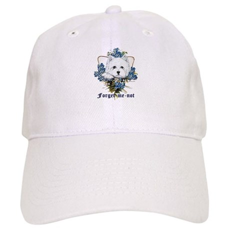 Westhighland White Terrier Forget Me Not Cap