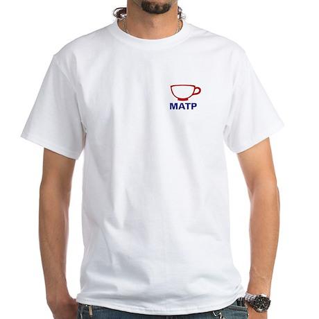 Massachusetts - Teacup, White T-Shirt