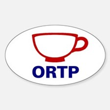 Oregon - Teacup, Decal