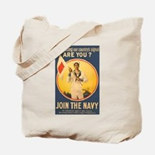 His Country's Signal Tote Bag