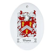 Wayne Ornament (Oval)