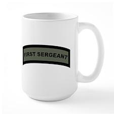 Large First Sergeant Mug