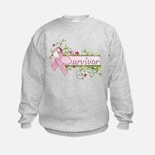 Survivor Floral Sweatshirt