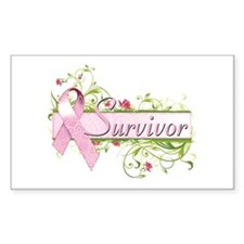 Survivor Floral Decal