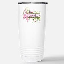 Survivor Floral Travel Mug