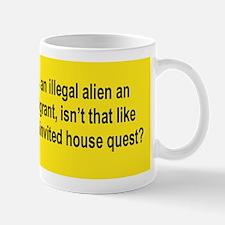 ILLEGAL LIKE A BURGLAR Mug