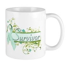 Survivor Floral Small Mug