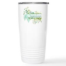 Survivor Floral Travel Coffee Mug