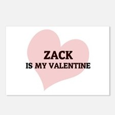 Zack Is My Valentine Postcards (Package of 8)