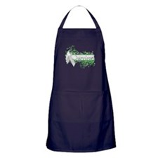 Survivor Floral Apron (dark)