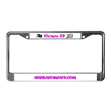 Unique Rving License Plate Frame