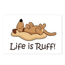Life is Ruff! Postcards (Package of 8)