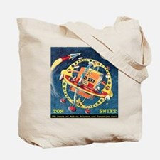 Challenger and Outpost in Space Tote Bag