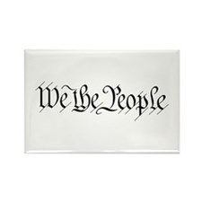 We the People Rectangle Magnet