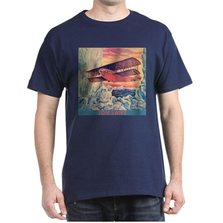 Tom Swift Flying Boat Dark T-Shirt