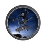 Board to Death Wall Clock