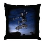 Board to Death Throw Pillow