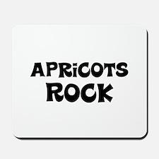 Apricots Rock Mousepad