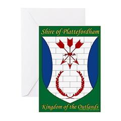 Plattefordham Device Greeting Cards (Pk of 10)