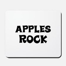 Apples Rock Mousepad