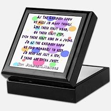 children grow poem Keepsake Box