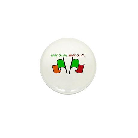 Half Gaelic Half Garlic Mini Button (10 pack)