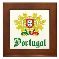 Portugal Framed Tile