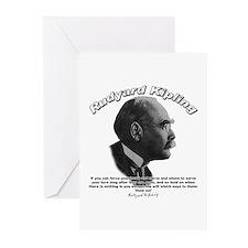 Rudyard Kipling 01 Greeting Cards (Pk of 10)