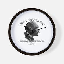 Rudyard Kipling 01 Wall Clock