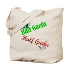 Half N' Half Tote Bag