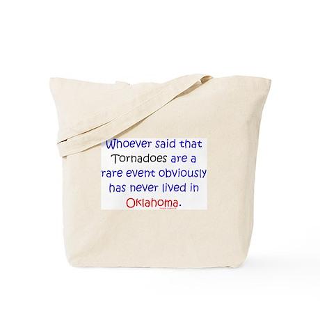 Tornado Rare Event? Tote Bag