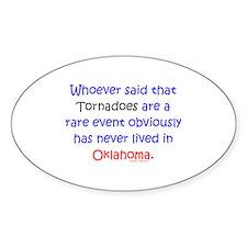 Tornado Rare Event? Decal