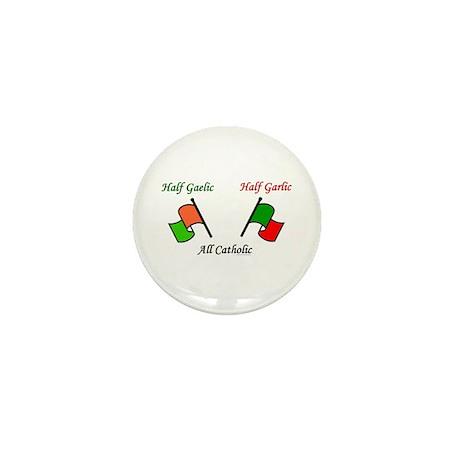 Half N' Half - Catholic Mini Button (10 pack)