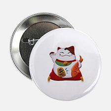 "Happy Kitty 2.25"" Button"